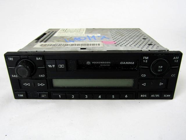 Details about 1J0035186C CAR RADIO VOLKSWAGEN PASSAT SW 1 9 81KW D 5M 99  REPLACEMENT USED (N
