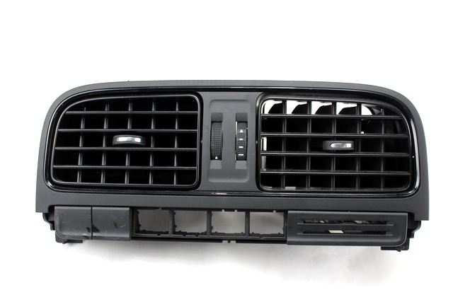 Black GARNECK Round Air Conditioning Outlet with Grille Fixed Screws Plastic Dashboard Side Roof Air Ventilation Deflector for Car Bus Vehicle Uses
