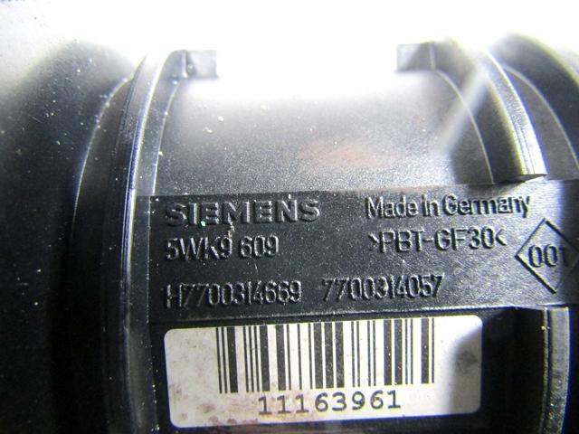 Debimetro Flussometro Siemens Renault Laguna 2.2 150Cv 2005 5WK9609 7700314057
