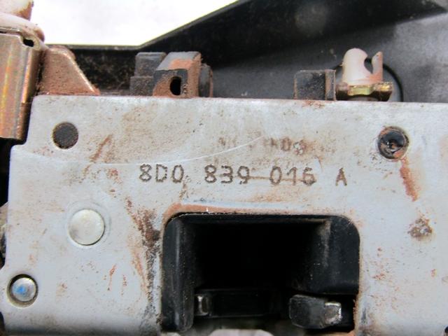 Audi A4 B5 Trasero os puerta correcta mecanismo de bloqueo 8d0839016a