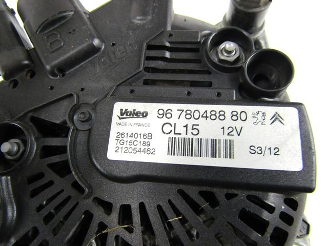 9678048880 Alternator PEUGEOT 308 Sw 1.6 68KW 5M D 5P ...