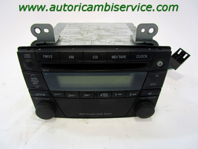 Details about LD67669R0B CAR RADIO WITH CD PLAYER MAZDA MPV 2 0 D 5M 5P  100KW 04 REPLACEMENT