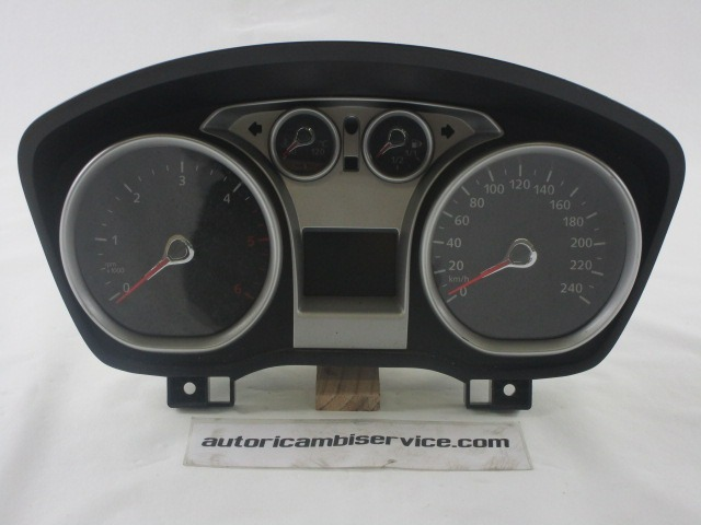 8v4t 10849 Gh Quadro Strumenti Contachilometri Ford Focus 1 6 D 5m Sw 66kw 2009 Ricambio Usato